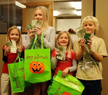 Cash for candy