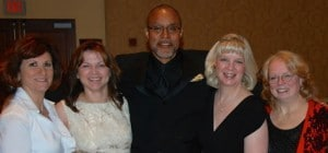 Walter Brooks and friends from UNMC