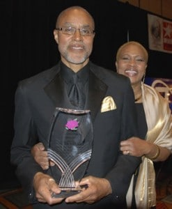 Walter Brooks and his wife, Shari Nared