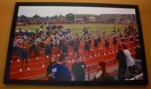 Bellevue East High School cheerleaders