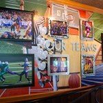 "Applebee's Bellevue ""Our Teams"" wall"