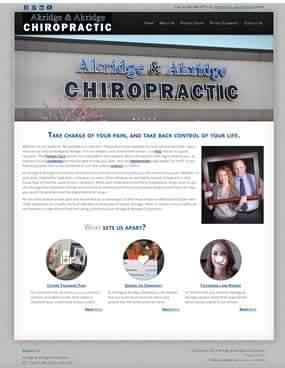 Akridge Chiropractic home page