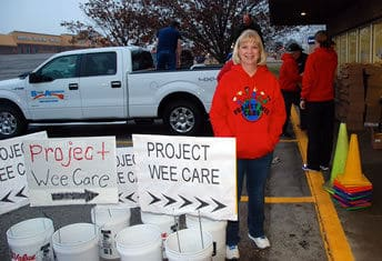 Theresa Cassiday of Catena Creations at Project Wee Care