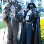 Super Cruiser Ride 2013 Darth Vader and Chewbacca