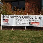 Banner for Halloween Candy Buy Back