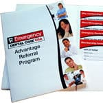 Advantage Referral folder and inserts