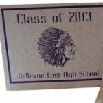 Bellevue East graduation announcement 2013
