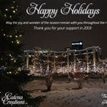 E-mail holiday card for Catena Creations 2013