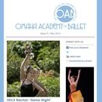 E-mail newsletter for Omaha Academy of Ballet