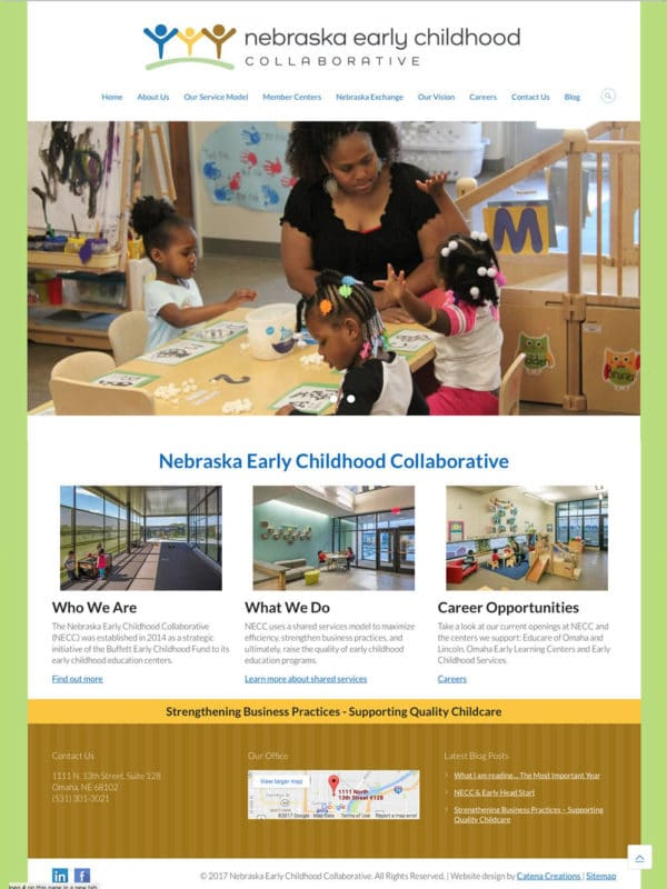 Nebraska Early Childhood Collaborative website