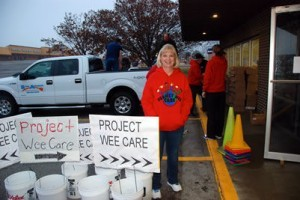 Theresa Cassiday at Project Wee Care