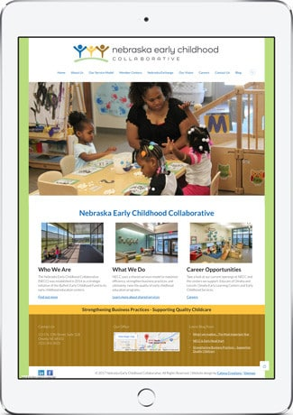 Mobile-friendly website design by Catena Creations