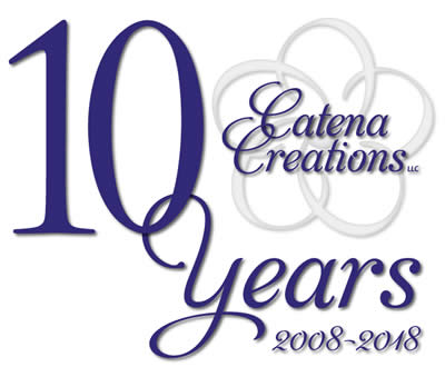 Catena Creations 10th anniversary logo