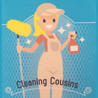 Cleaning Cousins logo